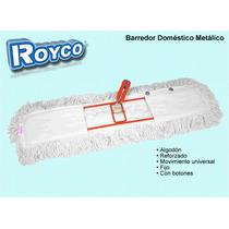 Barredor Metálico Doméstico Algodón Lampazo Royco 60x12 Cm