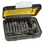 Kit Puntas Tubos Llave ¼ 39 Pz Limited Edition Stanley 13906