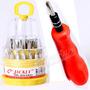 Kit 31 Destornilladores Reparacion Celulares Torx Hexa Iman