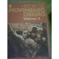 Centro Editor De America Latina Ed. 1984 Historia Mov Obrero