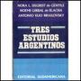 Tres Estudios Argentinos - De Gentile / Brailovsky