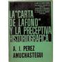 La Carta De Lafond Y La Preceptiva Historiografica Perez