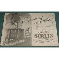 Antiguo Catalogo Muebles Sirlin Todos Los Estilos 50 Pgs