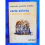 Carta Abierta A Buenos Aires Violento Por Eduardo Kieffer