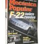 Revista Mecanica Popular 54/11 Prototipos F22 Mp3 Celulares