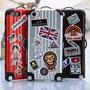 Funda Iphone Samsung Luggage Valija Case Portector Plastico