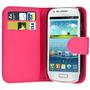 Funda Estuche Samsung Galaxy S3 Mini I8190 - Fucsia