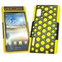 Funda Silicona Mesh Lg E610 E612 Optimus L5 Cover Amarillo