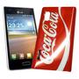 Funda Acrilico Laser Lg E610 E612 Optimus L5 Coca Cola Mod:2