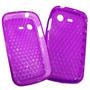 Funda Tpu Samsung E2222 E2220 Chat 222 Silicona Gel Violet