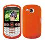 Funda Silicona Lg C300 C305 C310 Cover De Goma Naranja