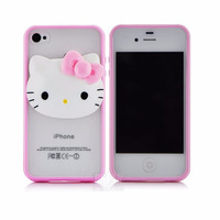 Fundas Hello Kitty Iphone 4 4s Silicona Semi Rigida