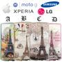 Funda Paris Iphone 6 Moto G G2 G3 Lg G4 Xperia Z4 Z5 M4 Note