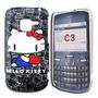 Funda Tapa Acrilica Nokia C3 Cover Diseño: Hello Kitty 7