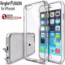Funda Ringke Fusion Iphone 6 6s + Film100% Originales