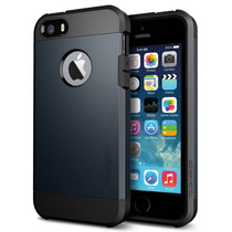 Funda Protector Iphone 5 5s Sgp Spidgen Tough Armor + Film