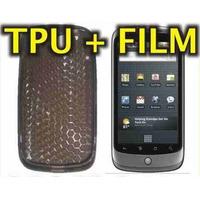 Funda Silicona Tpu + Film Protector Htc Nexus One / G5 - Nnv