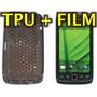 Funda Silicona Tpu + Film Protector Blackberry 9850 / 9860