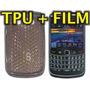 Funda Silicona Tpu + Film Protector Blackberry 9700 Bold 2