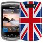 Funda Tapa Acrilica Blackberry 9800 9810 Bandera Inglaterra