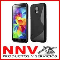 Funda De Silicona Gel Tpu Para Samsung Galaxy S5 9600 Nnv