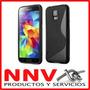 Funda Silicona Tpu + Film Protector Samsung Galaxy S5 9600