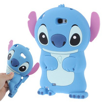 Funda Silicona 3d Stitch Stich Relieve Moto G Orejas + Film