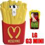 Funda Moschino Lg G3 Mini Silicona 3d Papas Fritas
