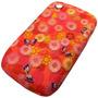 Funda Tpu Diseño Flores Blackberry 85 9300 Envio Promo Cap