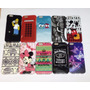 Funda Tpu Diseños Novedosos Colores Iphone 5 5s 6 6s + Film