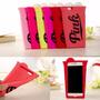 Funda 3d Victoria Secret Iphone 5 5s 6 6s Plus Pink Vaso
