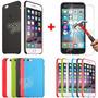 Funda Original Iphone 6s 6s Plus Soft Case + Vidrio Templado