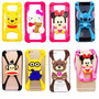 Funda Silicona Stitch Minnie Samsung Fame Pocket Chat Win S4