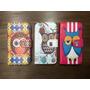 Funda Flip Cover Estampada Lechuzas Motorola Moto E2 Nuevo!