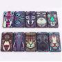 Funda Plastica Animales Arte Samsung Galaxy S4 S5 S6 + Film