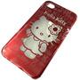 Funda Acrilico Diseño Kitty Iphone 4 4s Envio Gratis Cap
