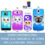 Fundas Gatos Note 4,3neo,2, Zl Iback G2mini Z3 Moto X2 G2 E