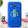 Funda Silicona 3d Sullivan Monster Galaxy Grand Prime + Film