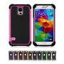 Funda Samsung Galaxy S5 Silicona Acrilico - Varios Colores