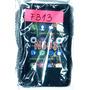 Funda Celular, Cover Silicona Nokia Asha N503, Negro, F313