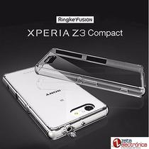 Funda Sony Z3compact Ringke Fusion Antigolpes+ Film Pantalla
