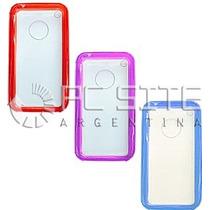 Funda Protector Cristal Tpu + Pc Celular Iphone 3g 3gs Apple