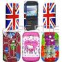 Funda / Protector Celular Samsung Chat S 3350 335 Estampadas