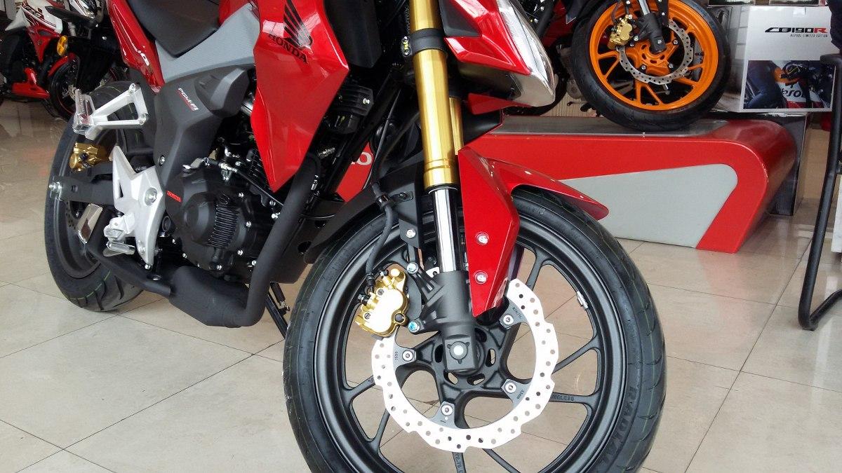 Honda Cb 190 R Repsol 2016 0 Km Nueva Moto Sur Negra Roja