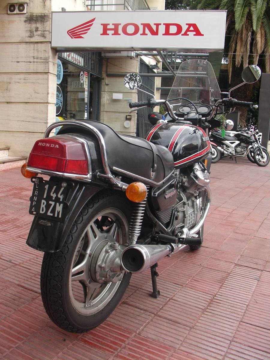 Honda Cx 500 Año 1978 Impecable Toda Original - U$S 9.000