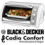 Horno Grill Electrico Black And Decker 17lts Cto500