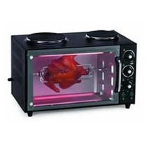 Horno Electrico Ken Brown 40 Lts 2 Anafes Sup Doble - Spiedo