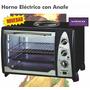 Horno Electrico Winco 36 Lt C/anafe Superior Cocina 2600 Wat