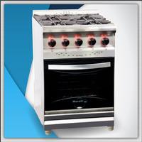 Cocina Morelli 55 Cm Tapa Vidrio !! Oferta ! Directo Fabrica