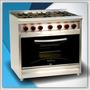 Cocina Morelli Premium 900 90cm Tapa Vidrio Reja Vitrificada